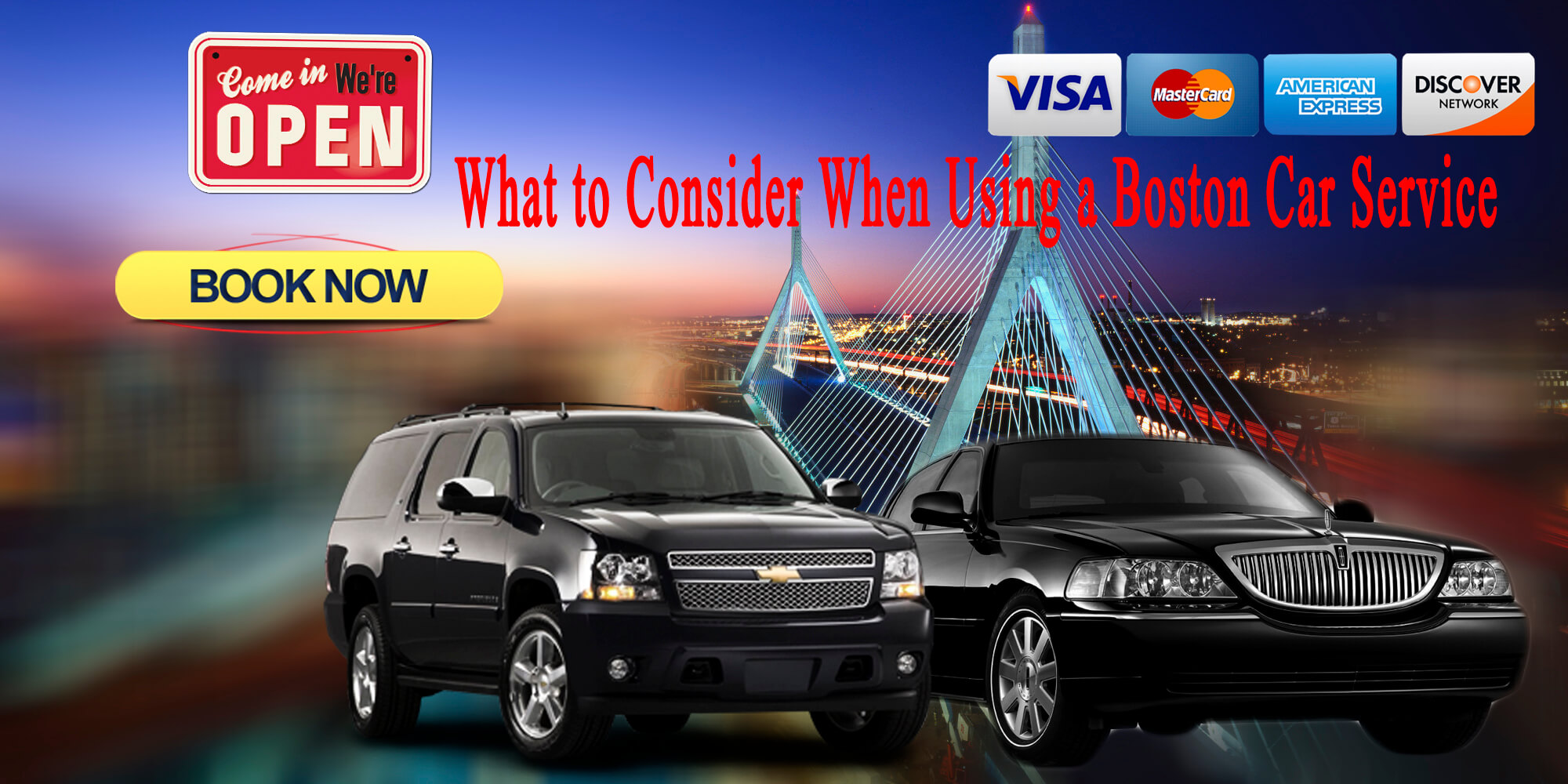 Boston-Car-Service What to Consider When Using a Boston Car Service